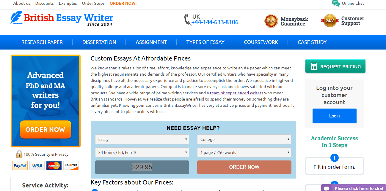 online college paper writers Buy custom essays online with 15% discount right now very affordable and personalized essay writing services for college and university students.